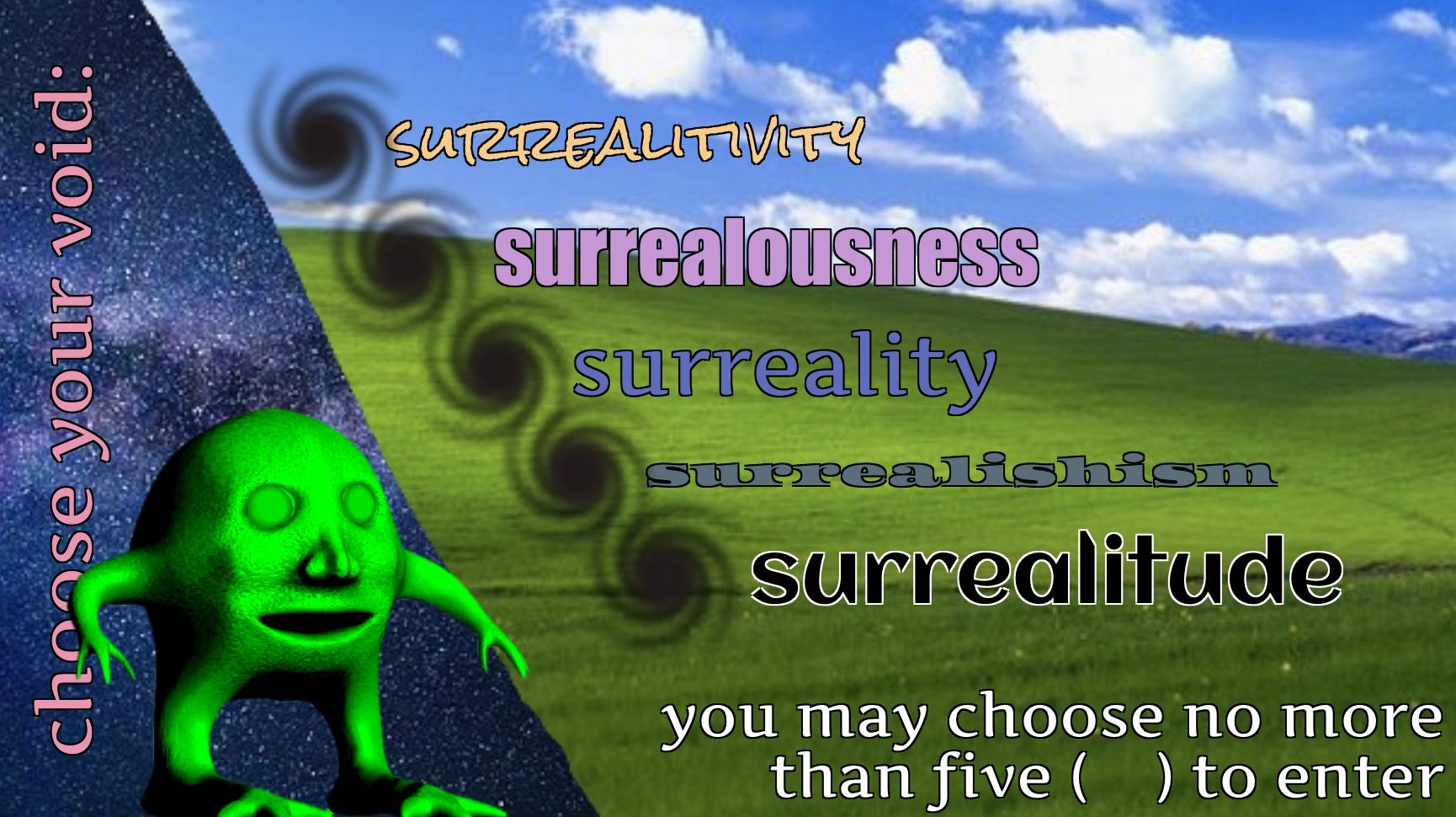 Surreal Memes: What, Why, and How